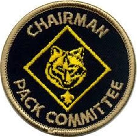 cub scout committee chair patch placement 1000 images about scout on cub scouts