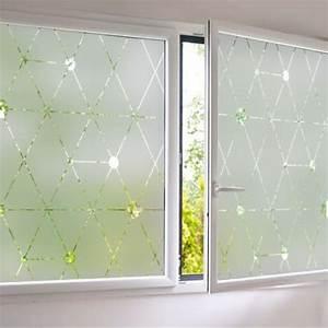 Adhésif Fenetre Opaque : sticker occultant pour vitre et fen tre depoli design ~ Edinachiropracticcenter.com Idées de Décoration