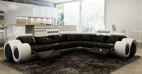 canape cuir noir et blanc emejing salon de jardin canape pictures amazing