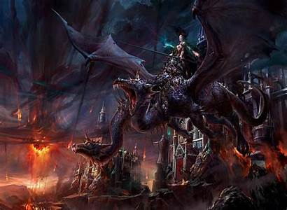Desktop Dragon Fantasy Princes 2d Computer Digital