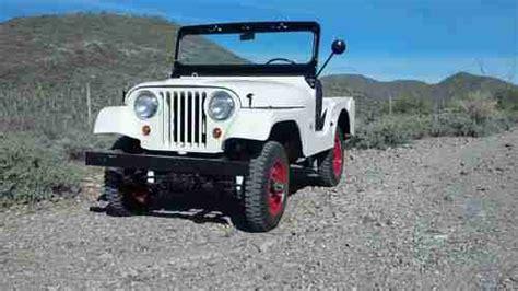 jeep kaiser cj5 buy used 1967 jeep kaiser cj5 frame off restoration jeep