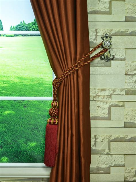 Ready Made Pinch Pleat Drapes - swan brown solid pinch pleat ready made curtains