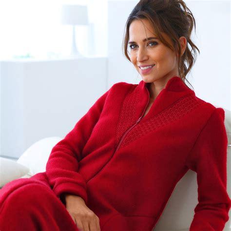 robe de chambre tres chaude pour femme robe de chambre zippée blancheporte