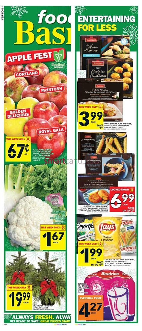 basics of cuisine food basics flyer november 17 to 23