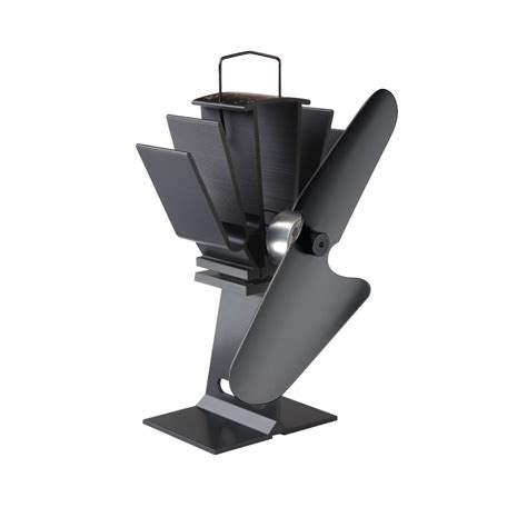 wood stove fans and blowers ecofan original small heat powered wood stove fan