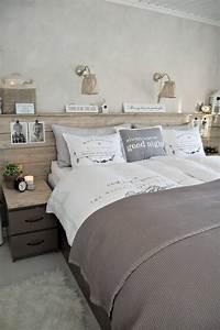 finest tte de lit originale ides tendance de design With incroyable papier peint couleur taupe 13 deco chambre parentale romantique finest awesome la