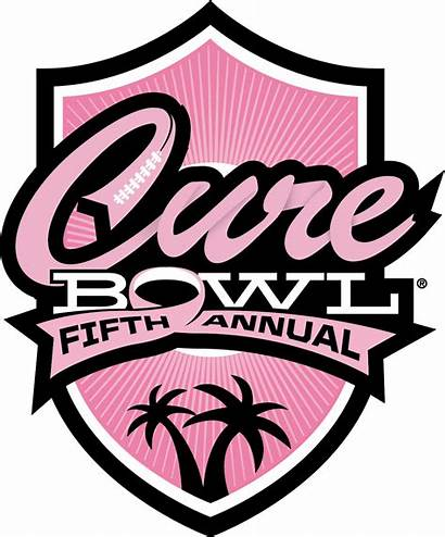 Cure Bowl Logos Season Football Shield College