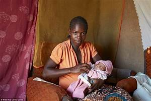 Malawian mothers with their newborns just 24 hours after for Giving birth in bathroom