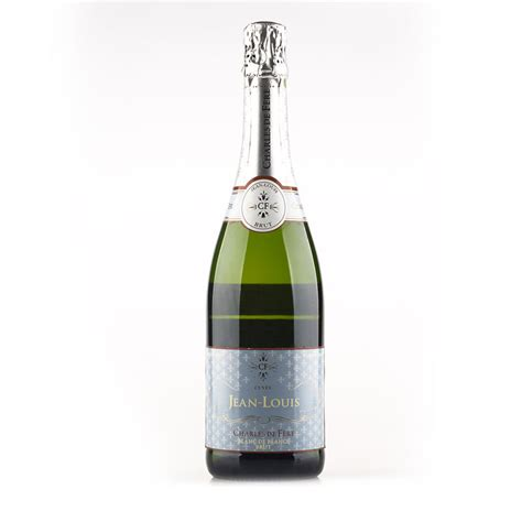 jean louis sparkling wine cuv 233 e jean louis blanc de blancs brut 750ml