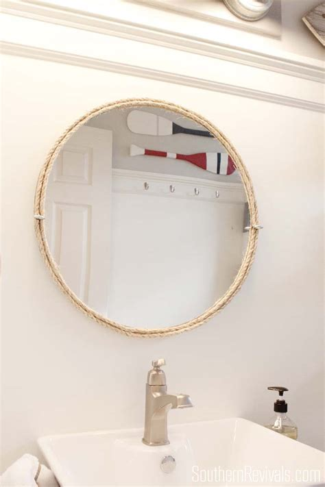 nautical guest friendly boys bathroom makeover reveal