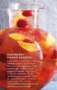 Raspberry Mango Sangria