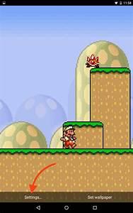 Mario Live Wallpaper: Classic Side