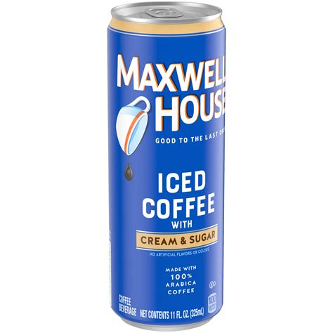 68 ($0.17/fl oz) $21.55 with subscribe & save discount. Maxwell House Black Iced Ready to Drink Coffee with Cream ...