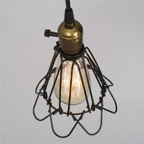 In Swag Ls Ebay by Vintage Industrial Loft Antique Cage Ceiling Pendant Light