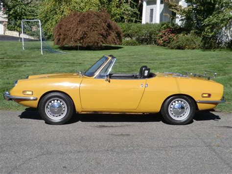 Fiat 850 For Sale by 1970 Fiat 850 Spider Classic Italian Cars For Sale