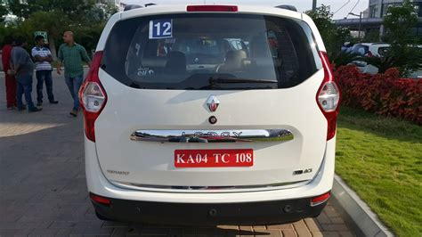 renault lodgy specifications renault lodgy rxz 110 ps india specification rear indian
