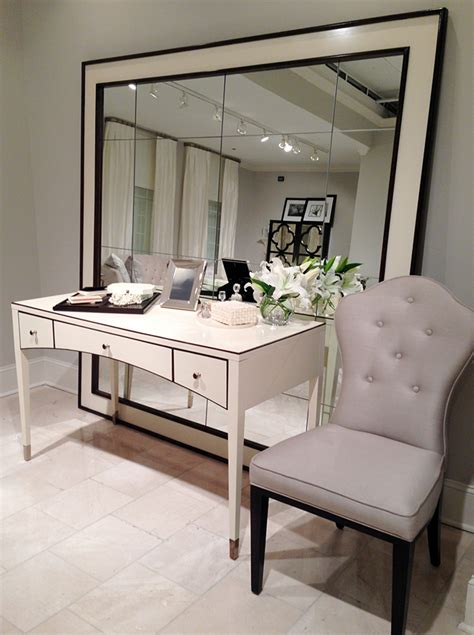 vanity desk with mirror highlights from high point 2