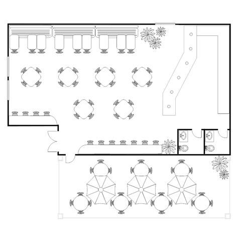 floor layout design coffee shop floor plan