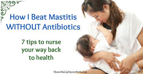 beat mastitis  antibiotics