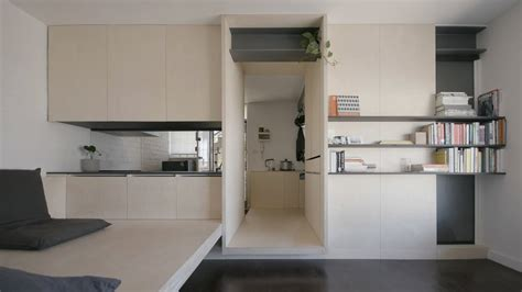 Right Way Small Studio Apartment by Never Small Ep 7 Micro Apartment Design George
