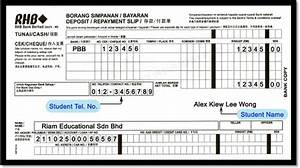 bank withdrawal slip template http wwwriamtecedumy With withdrawal slip template