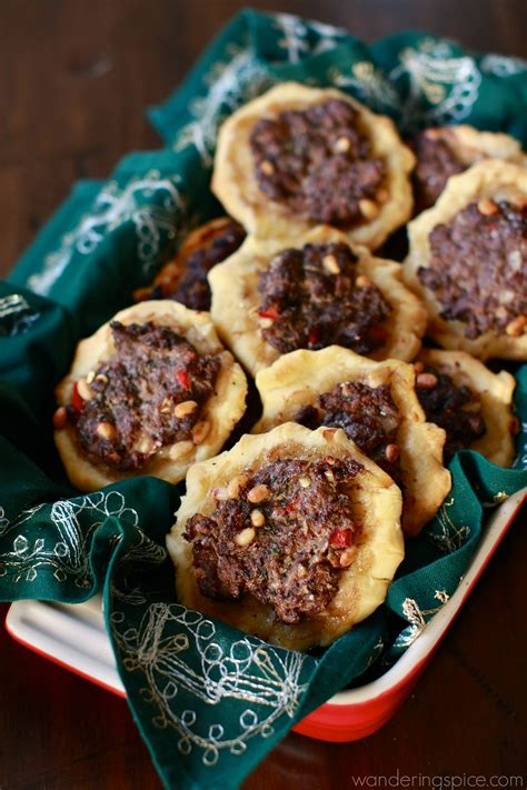 sfeeha middle eastern meat pies wandering spice