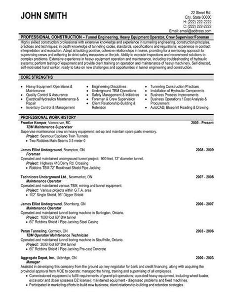 Maintenance Supervisor Cv Resume by Click Here To This Maintenance Supervisor Resume