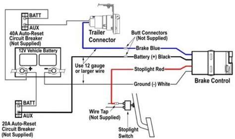 standard brake controller wire color codes