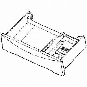 Washer Dispenser Drawer Assembly Aaz34009534