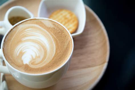 Top View Of Cup Of Coffee With Foam Photo Coffee Culture Chch Melbourne Time Niagara Falls Erin Rotorua Quiz Roll Up The Rim Winnipeg