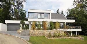 Moderne Häuser Mit Satteldach : dachformen in moderner architektur flachdach pultdach co ~ Lizthompson.info Haus und Dekorationen