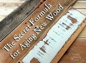 How To Make New Wood Look Old Weathered And Rustic Autos