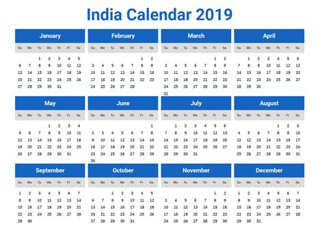 calendar excel indian holidays lireepub