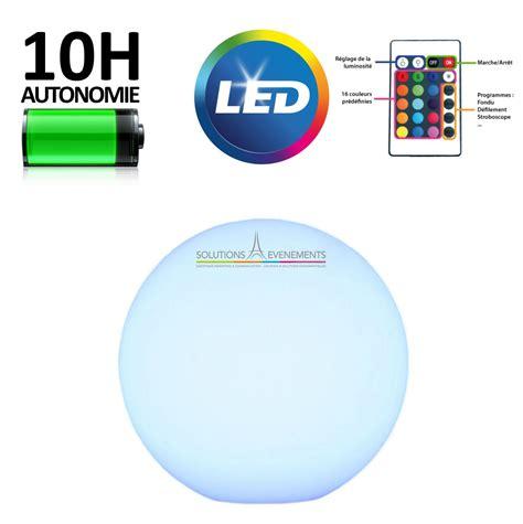 location boule sphere lumineuse led pour evenement et reception