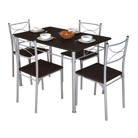table et chaises cuisine table et chaise de cuisine pas cher mobilier sur