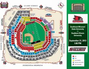 Semo To Play Siu In First Football Game At Busch Stadium