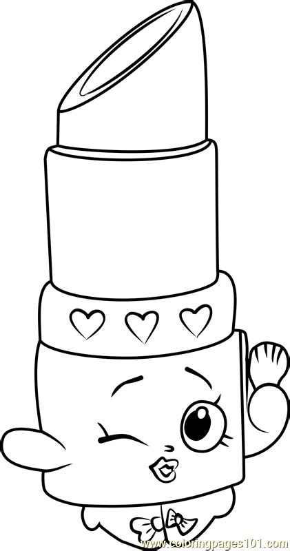 lips colouring pages sketch coloring page