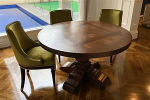 Australian, Made, Round, Parquetry, Table