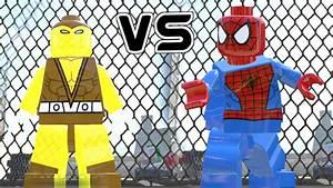 SPIDERMAN VS SHOCKER (BATTLE) - LEGO MARVEL SUPER HEROES ...