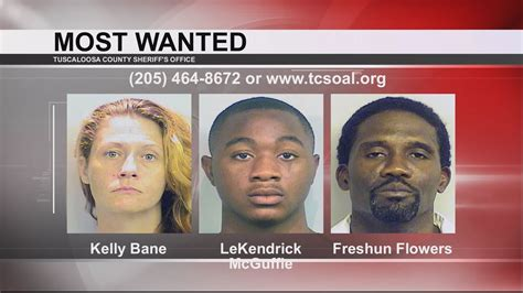 Tuscaloosa's Most Wanted Dec 21, 2016