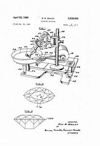 Patent Us3439456 - Faceting Machine
