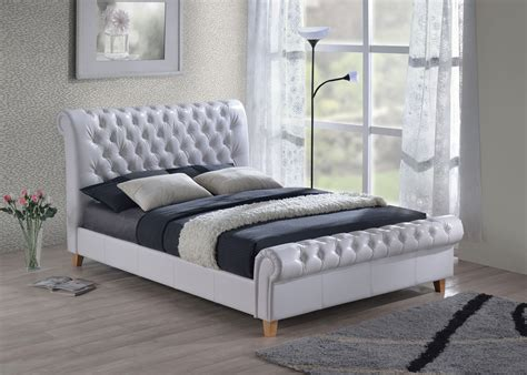 Bed Size by Furniturekraze Ltd Richmond Chesterfield Style Brown Bed