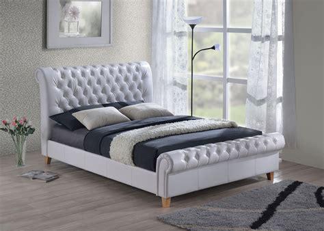 furniturekraze  richmond chesterfield style brown bed