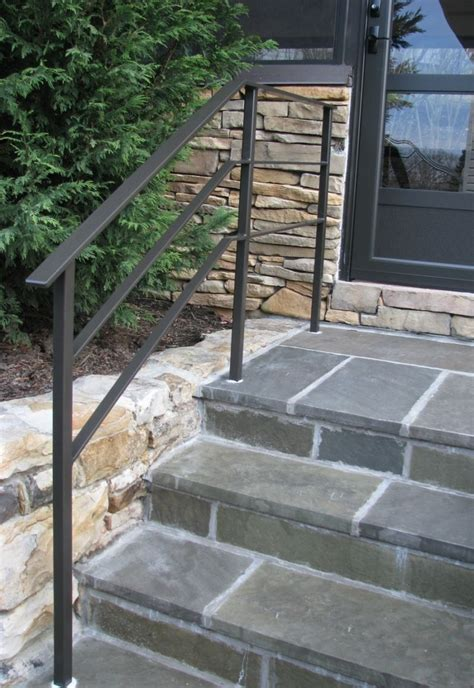 Outdoor Banister Railing by Wrought Iron Handrail Design Rail Outdoor Steps