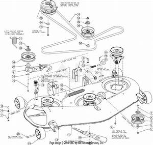 Troy Bilt 17arcacq011 Mustang Xp 50  2016  Parts Diagram