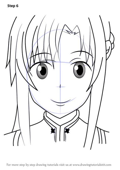 learn   draw yuuki asuna  sword art  sword