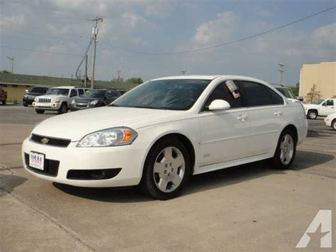 2009 Chevrolet Impala Ss by 2009 Chevrolet Impala Ss For Sale In Ada Oklahoma