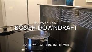 Downdraft Dunstabzug Test : bosch downdraft power test youtube ~ Michelbontemps.com Haus und Dekorationen