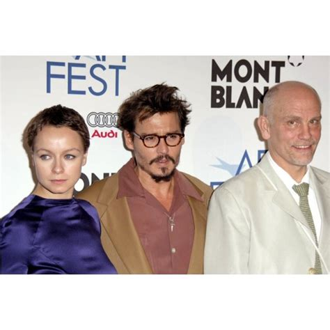 foto de Samantha Morton Johnny Depp John Malkovich At Arrivals For