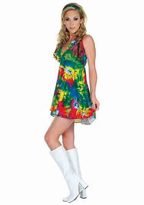 70s Tie Dye Diva Costume